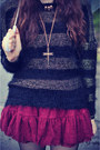 Ianywear-sweater-creepers-shoes-round-sunglasses-ianywear-skirt