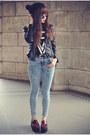 Topshop-jeans-pu-leather-sheinside-jacket-round-sunglasses
