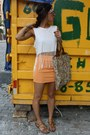 H-m-shirt-f21-ring-h-m-skirt-united-nude-sandals