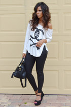 The Wardrobe top - Forever 21 leggings