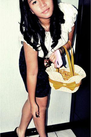 bag - skirt - shoes - dress