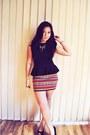 Black-asoscom-purse-black-wedges-lipstik-wedges-bodycon-blockout-skirt