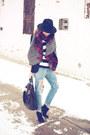 Mango-jeans-zara-scarf-givenchy-bag
