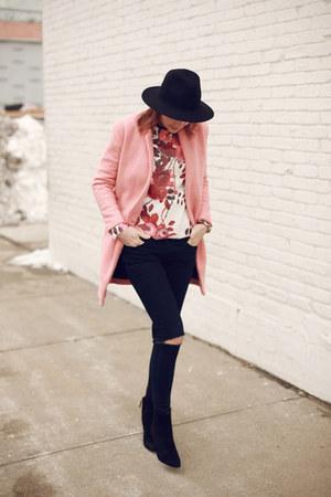 Presunmall coat - Nine West boots - Zara sweatshirt