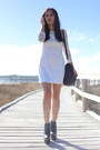 Black-platform-missguided-boots-white-lace-persunmall-dress