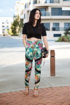 teal wanderer ELLIATT pants - black rodriguez Dylan Kain bag