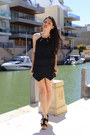 Black-skort-zara-shorts-black-halter-persunmall-top