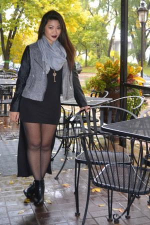 black hi-lo TJ Maxx dress
