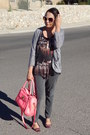 Dark-gray-forever21com-blouse-heather-gray-charlotte-russe-cardigan