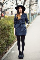 Jeffrey Campbell boots - Koton coat - H&M hat