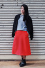 Red-cos-skirt
