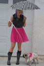 Boot-world-boots-hot-pink-pink-old-navy-skirt