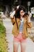 Pink-american-apparel-shorts-gold-american-apparel-jacket-blue-american-appa