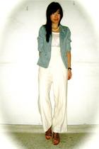 thrift from BKK blazer - thrift from BKK - thrift from BKK shoes - Chomel neckla