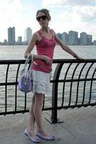 light purple Wanted shoes - light purple roccobarocco bag