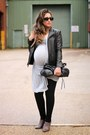 Charcoal-gray-zara-boots-black-h-m-leggings-heather-gray-all-saints-shirt