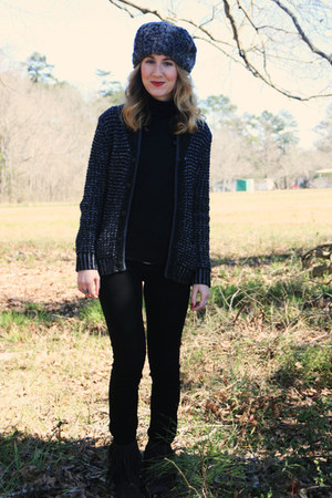 Rag &amp; Bone Target sweater - sam edelman boots - Ralph Lauren Polo shirt