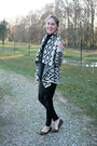 Element-sweater-zara-leggings-nine-west-flats