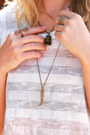 Brown-saint-claude-nola-necklace-navy-levis-shorts
