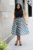 AmiClubWear skirt - J Crew shoes - American Apparel shirt