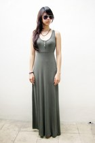 army green BB Dakota dress