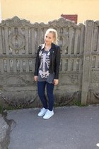 skeleton print Zara t-shirt - Nike air max 90 shoes
