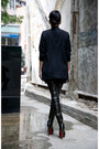 Black-christian-louboutin-boots-black-izzue-blazer-black-david-yurman-sungla