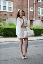 Ministry of Retail dress - JustFab bag - Lulus heels - jeweliq accessories