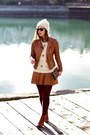 Ivory-toque-club-monaco-hat-brown-leather-jacket-forever-21-jacket