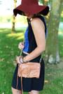 Brick-red-h-m-hat-brown-leather-bag-rebecca-minkoff-bag