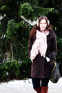 Dark-brown-wilfred-coat-light-pink-h-m-scarf-light-brown-h-m-accessories-n