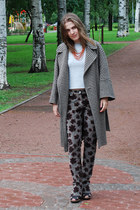 dark brown Max Mara coat