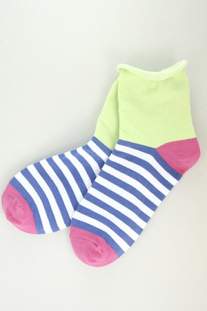 lime green TPRBT socks