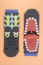 Gray-yawning-dragon-tprbt-socks