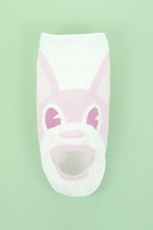 bubble gum rabbit print TPRBT socks