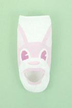 bubble gum rabbit print TPRBT socks
