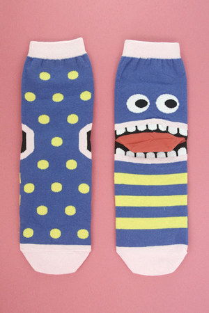 blue TPRBT socks