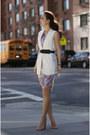 Alice-yim-dress-bcbg-belt-zara-vest-asos-heels