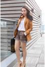 Zara-blazer-zara-shorts-asos-heels