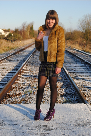 H&amp;M coat - Matalan shoes - asos skirt