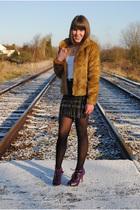H&M coat - Matalan shoes - asos skirt