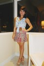 Verigaona-top-lola-skirt-tj-maxx-wedges-fossil-watch
