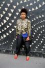 Vintage-jacket-navy-féerie-paradoxale-purse