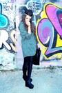 Olive-green-parka-h-m-jacket-black-calzedonia-leggings