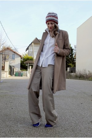 camel H&ampM coat