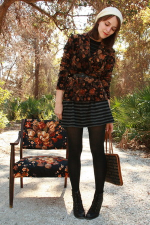 black floral httpwwwetsycomshopupsideofwonder blazer