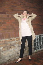 beige Old Navy coat