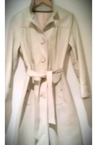 White Bold Cosplay Antique Long Trench Sizes (2-6_