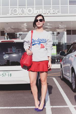 casio watch - Alexander Wang bag - zeroUV sunglasses - PERSUNMALL skirt