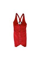 ruby red VIRVIN dress